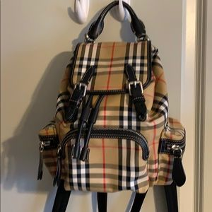 Burberry almost new backpack. Excellent cond